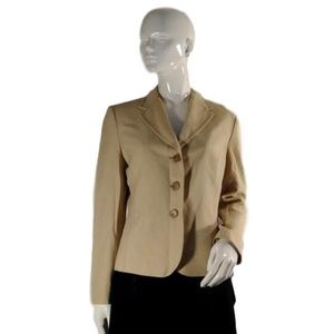 Ann Taylor Two Piece Suit Tan Size 8 (SKU …